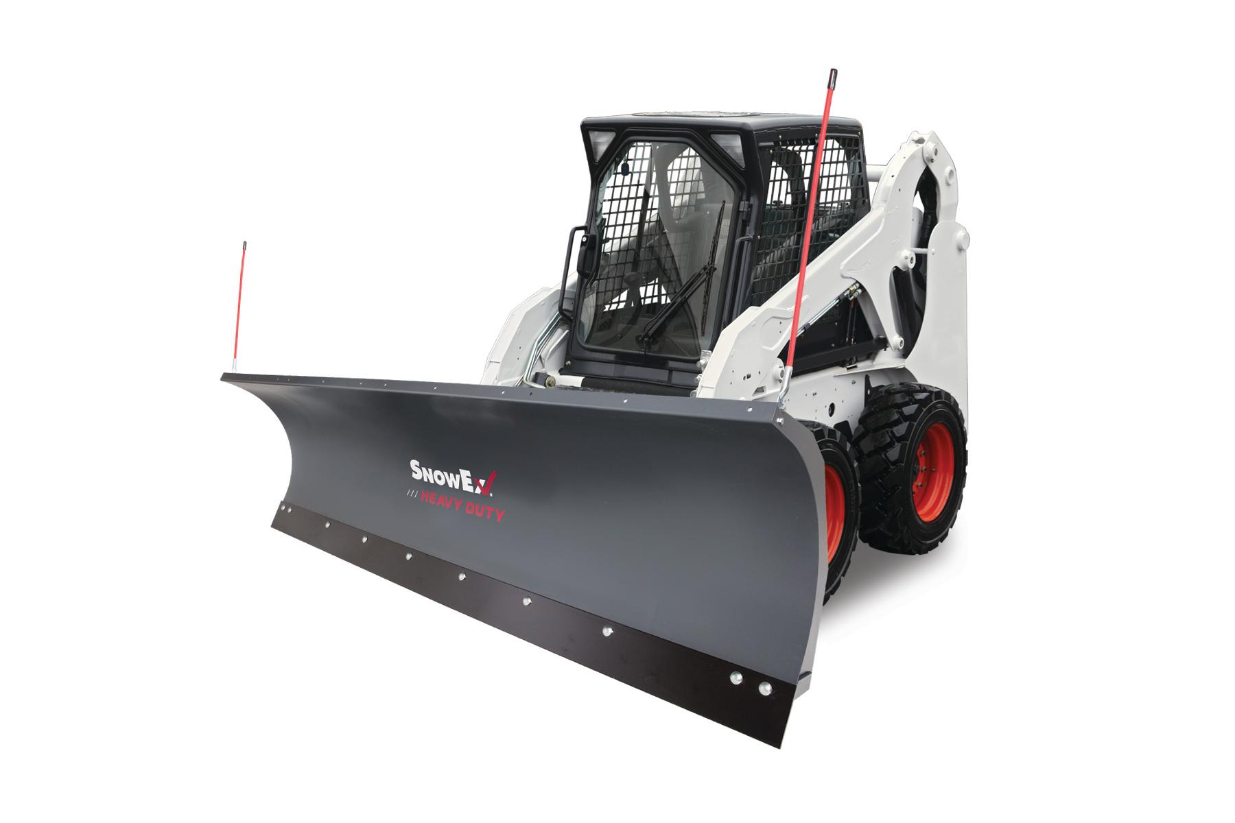 SnowEx heavy-duty snowplow